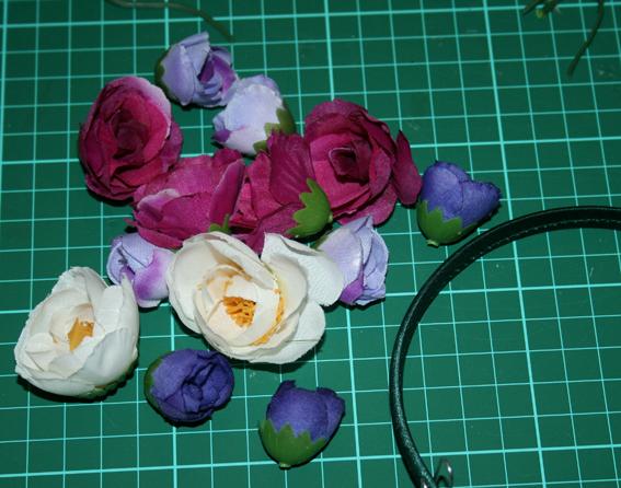Diadema de flores 16