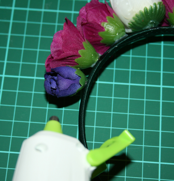 Diadema de flores 17