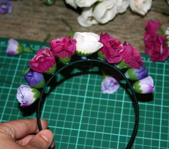 Diadema de flores 19