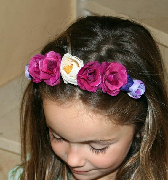 Diadema de flores 21