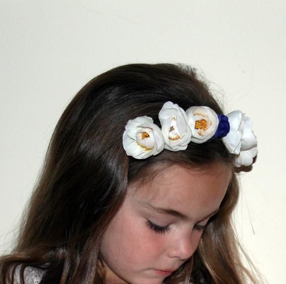Diadema de flores 24