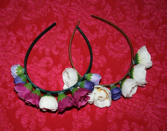 Diadema de flores 5