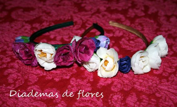 Diadema de flores 7