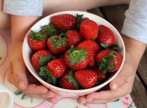 Smoothie de fresas 1