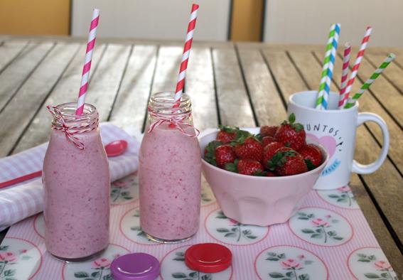 Smoothie de fresas 10
