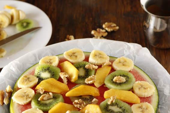 Pizza de frutas 16