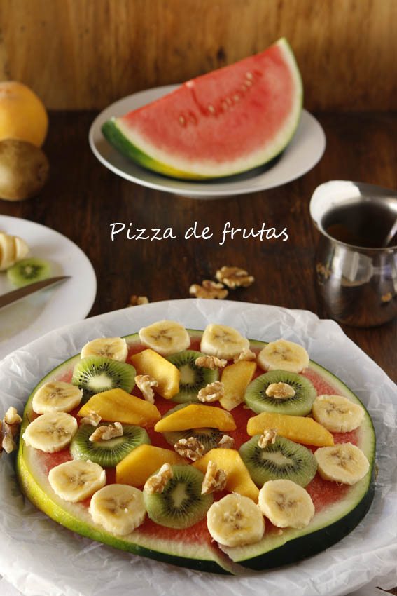 Pizza de frutas 17b