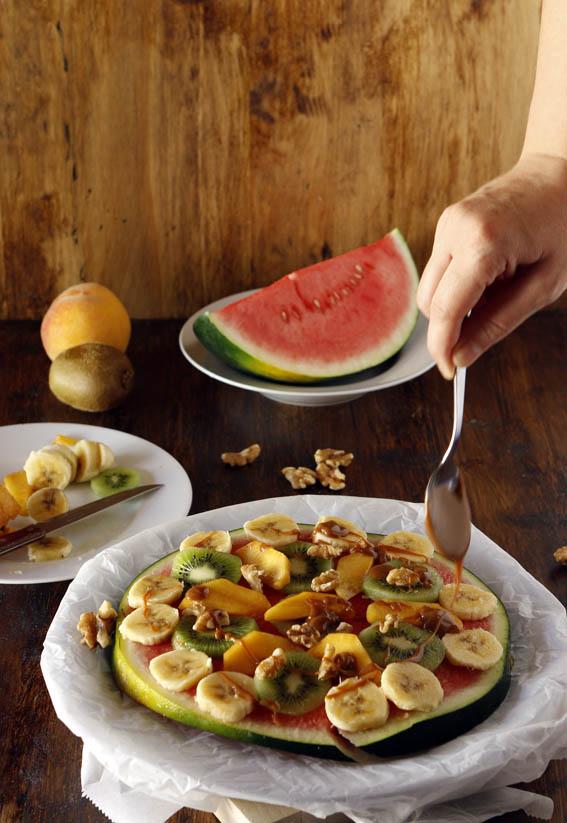 Pizza de frutas 21