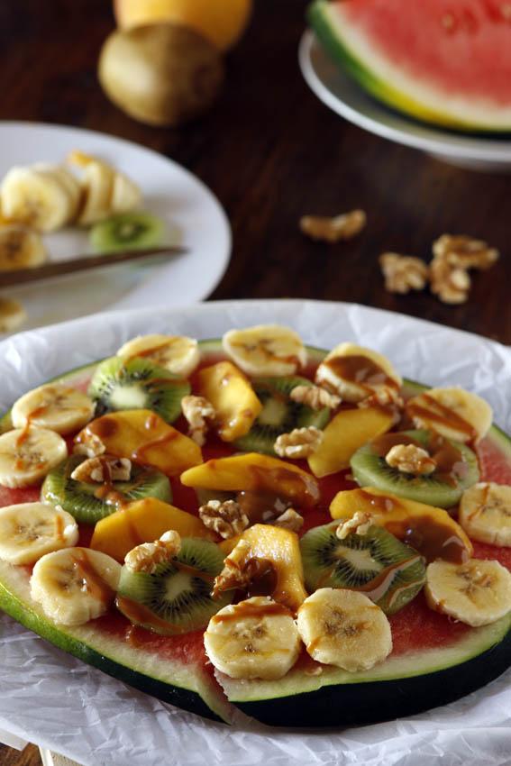 Pizza de frutas 24