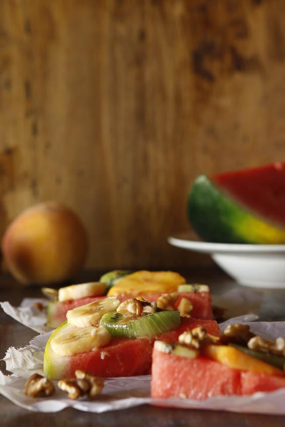 Pizza de frutas 32