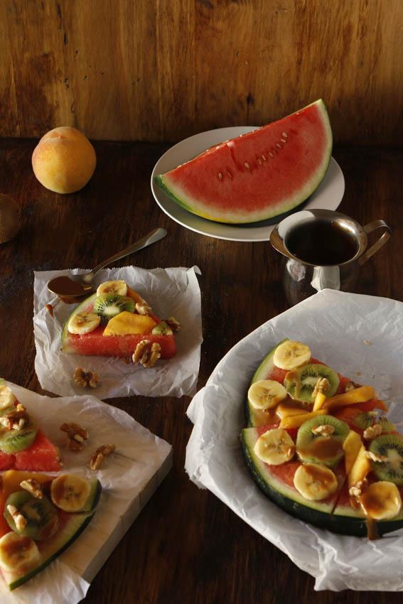 Pizza de frutas 4