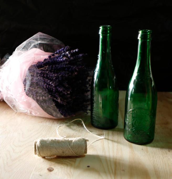 botella de cristal para adornar 3