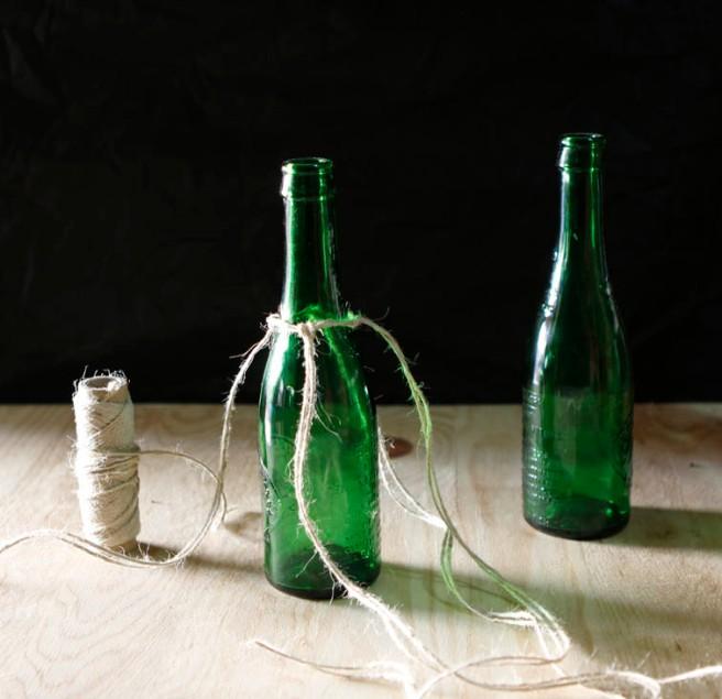 botella de cristal para adornar 8