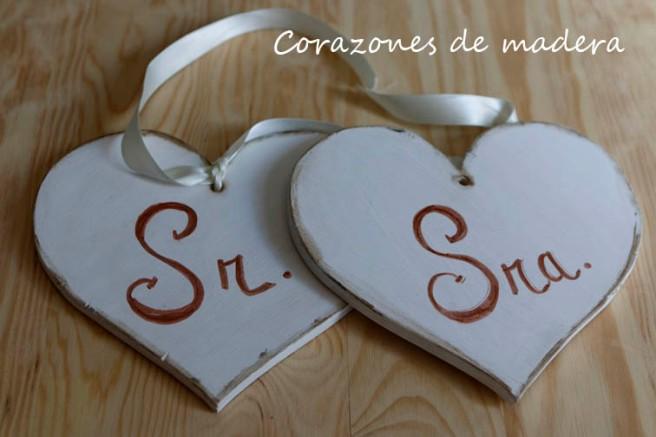 Corazones de madera para boda 3b