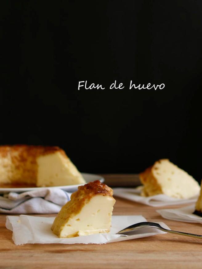 Flan de huevo 2b