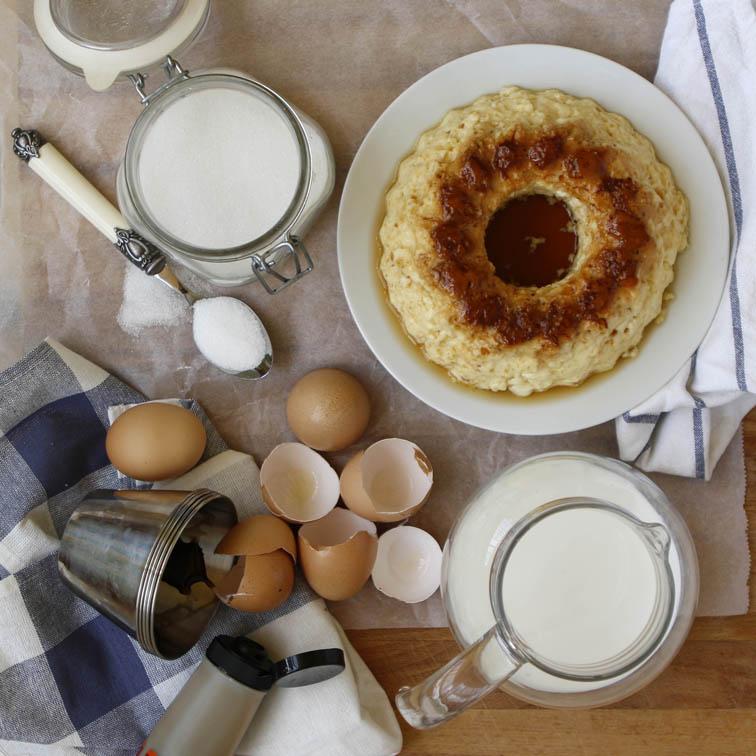 Flan de huevo con thermomix mislaboresypunto - Flan de huevo sin horno ni bano maria ...