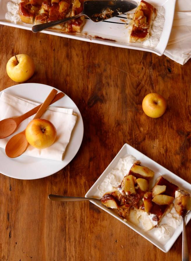 Flan de manzana 2