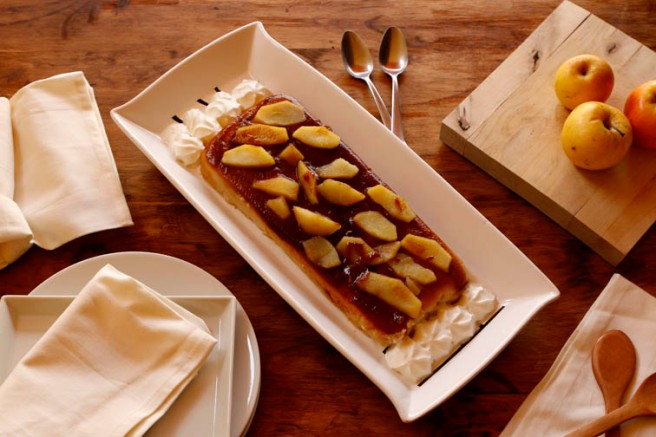 Flan de manzana 24