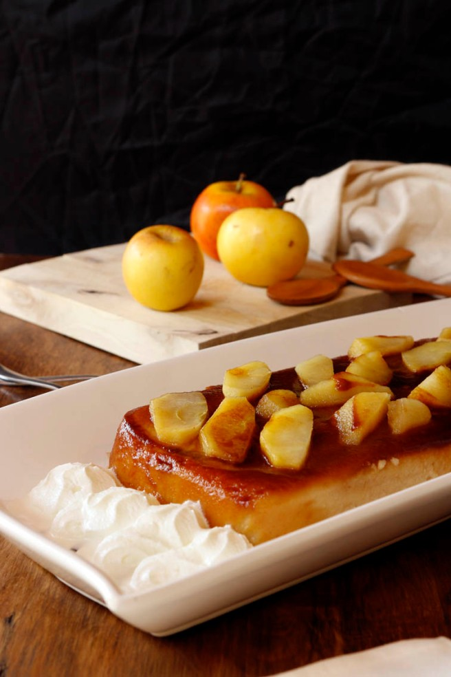 Flan de manzana 33
