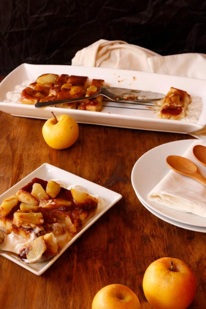 Flan de manzana 60