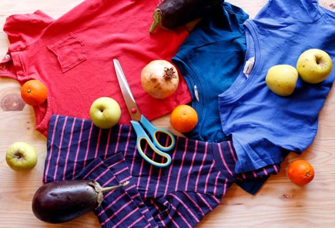 Bolsas con camisetas recicladas 1