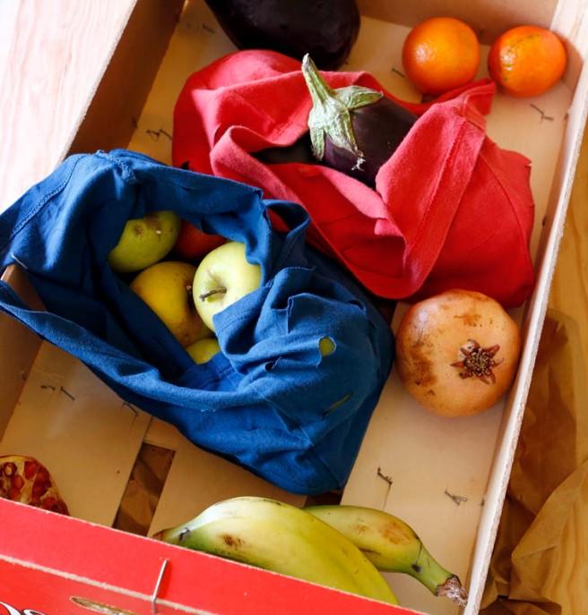 Bolsas con camisetas recicladas 15