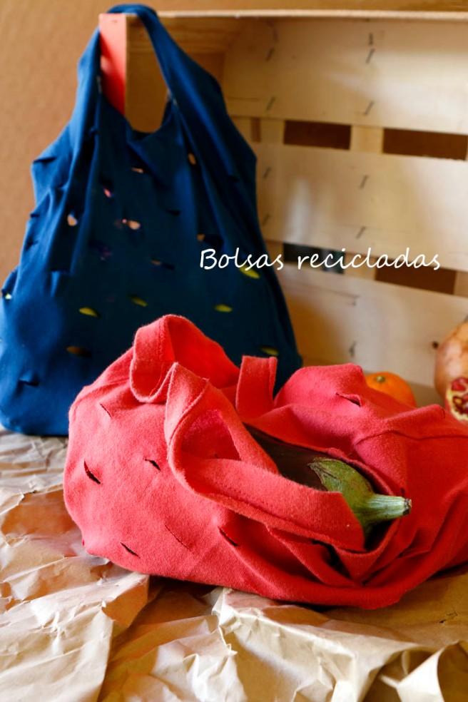 Bolsas con camisetas recicladas 27b