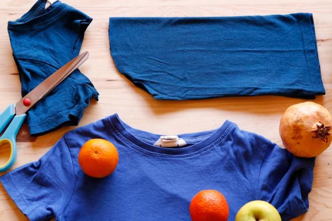 Bolsas con camisetas recicladas 5