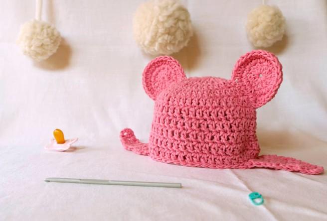 gorro a crochet 2