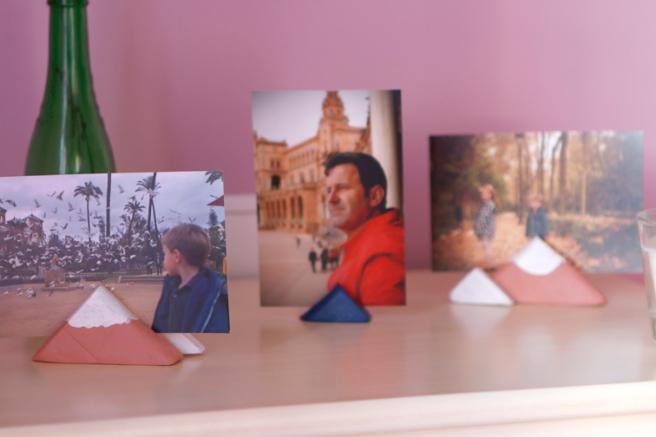 Montañas portafotos DIY 33