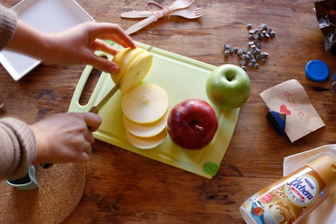 Manzanas de corazón 10