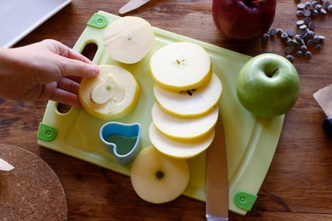 Manzanas de corazón 12