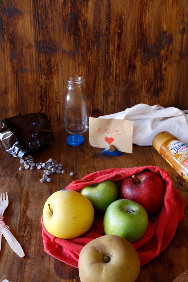 Manzanas de corazón 2