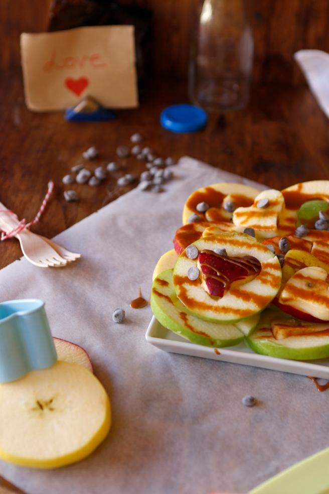 Manzanas de corazón 26