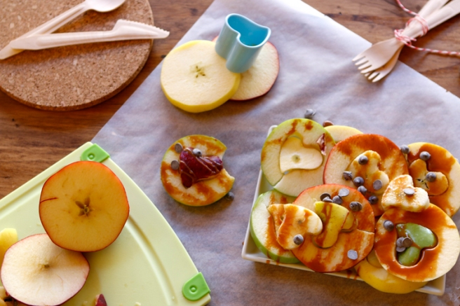 Manzanas de corazón 40