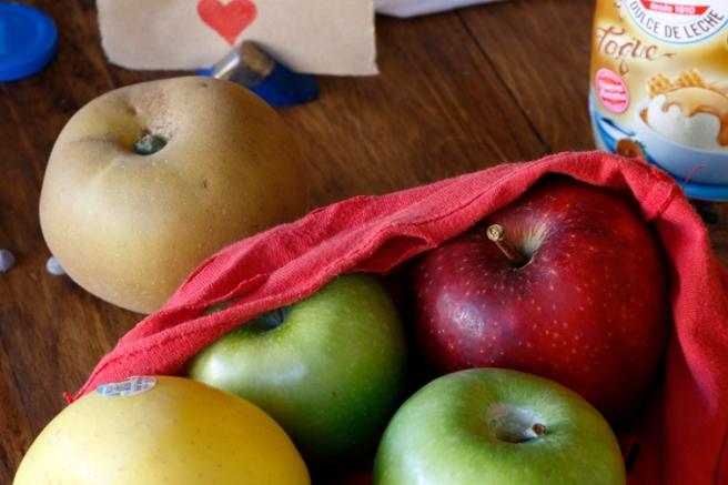 Manzanas de corazón 6