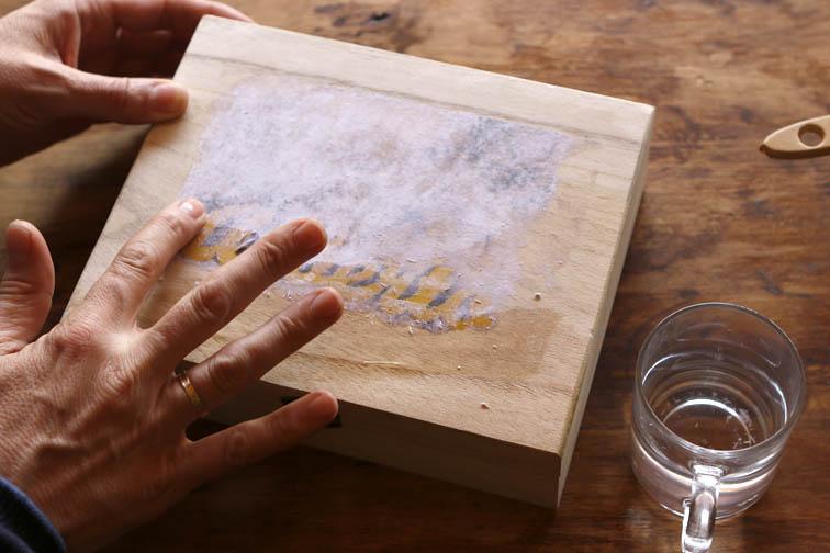 Transferir una imagen a madera mislaboresypunto - Transferir foto a madera ...