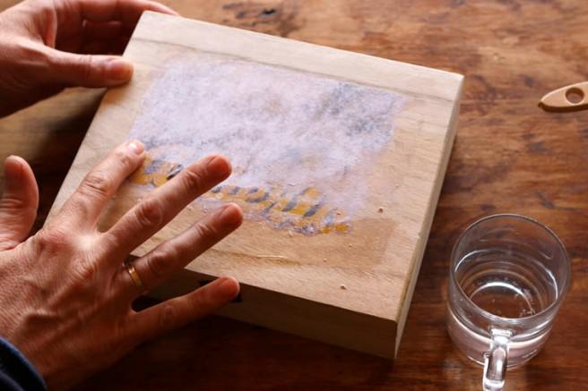Transferir imagen a madera 13
