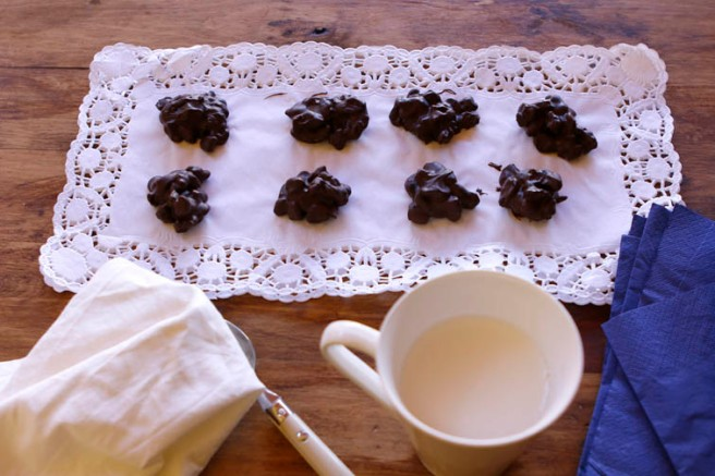Rocas de chocolate 13