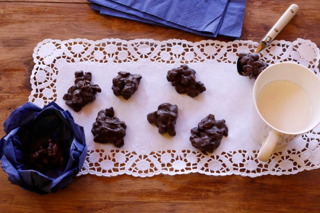 Rocas de chocolate 24