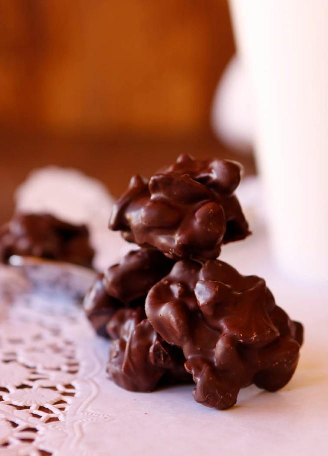 Rocas de chocolate 28