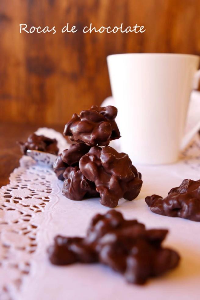 Rocas de chocolate 31b