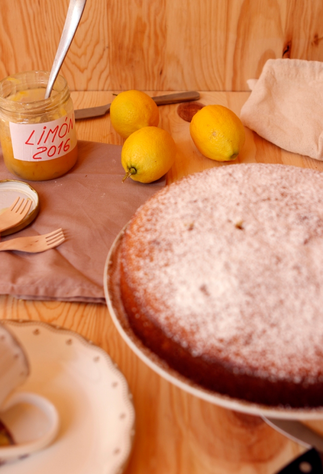 Bizcocho de mermelada de limón 21