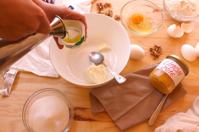 Bizcocho de mermelada de limón 3