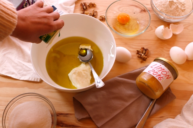 Bizcocho de mermelada de limón 4
