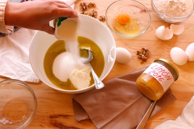 Bizcocho de mermelada de limón 5