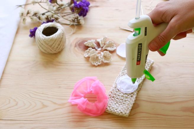 Cinta para bebés a crochet 12