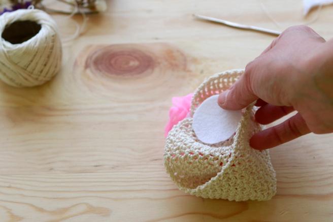 Cinta para bebés a crochet 16