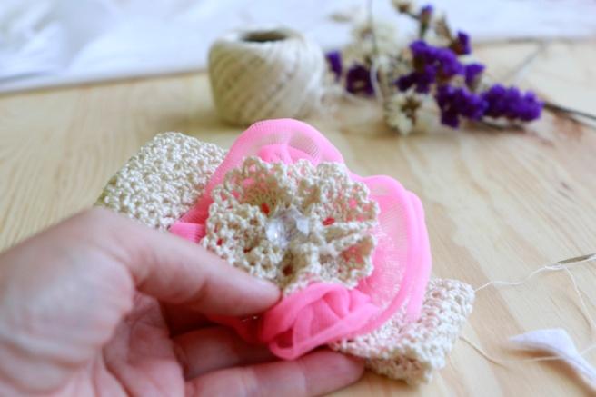 Cinta para bebés a crochet 22