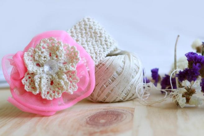 Cinta para bebés a crochet 24